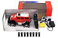 Джип на аккумулятор, красный, 5A-922