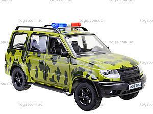 Игрушечный военный джип «Автопарк», 9625-B, купить
