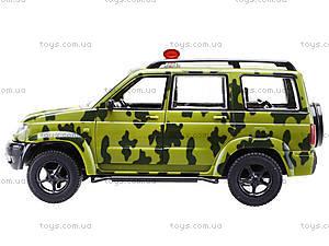 Игрушечный военный джип «Автопарк», 9625-B, детские игрушки