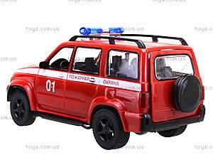Инерционная пожарная машинка «Автопарк», 9625-D, купить