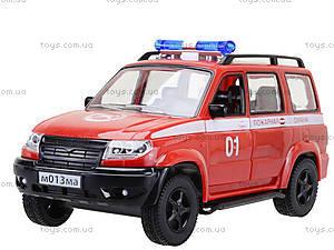 Инерционная пожарная машинка «Автопарк», 9625-D, цена