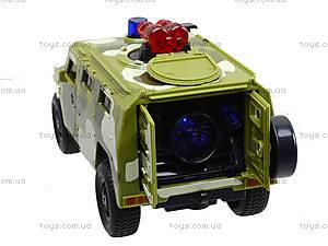 Музыкальный военный джип серии «Автопарк», 9706C, купить