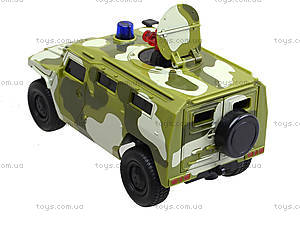 Музыкальный военный джип серии «Автопарк», 9706C, цена
