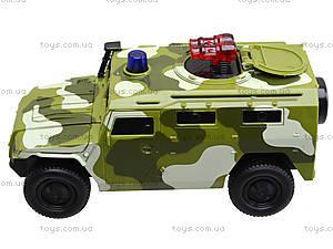 Музыкальный военный джип серии «Автопарк», 9706C, игрушки