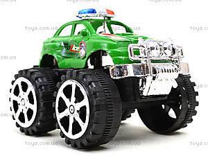 Игрушечный джип на больших колесах «Полиция», 369A, купить