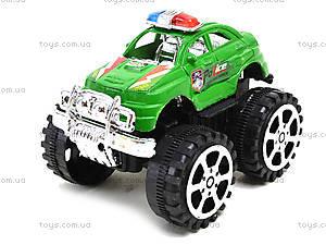 Игрушечный джип на больших колесах «Полиция», 369A, фото