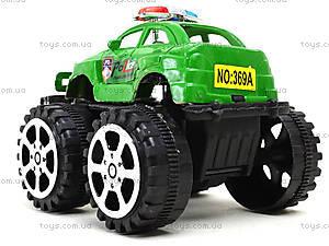 Игрушечный джип на больших колесах «Полиция», 369A, отзывы