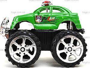 Игрушечный джип на больших колесах «Полиция», 369A, цена