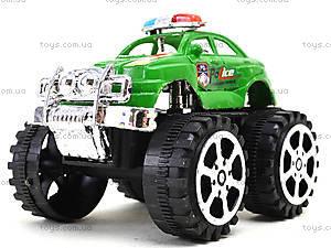 Игрушечный джип на больших колесах «Полиция», 369A, игрушки