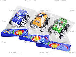 Игрушечный джип на больших колесах «Полиция», 369A, детские игрушки