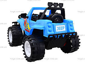 Игровая машина «Джип Сафари», 12-001-1, игрушки