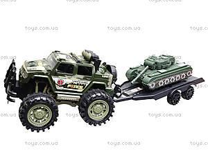 Инерционный джип с прицепом и танком, 364D-2, купить