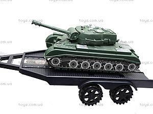Инерционный джип с прицепом и танком, 364D-2, фото