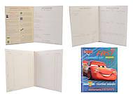 """Дневник школьный жесткий """"Cars"""" (на украинском), 911161, купить игрушку"""