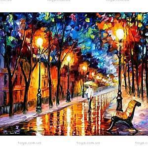 Дождливая осень, роспись по номерам, КН2624