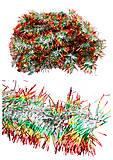 Дождик на ёлку 3 вида, 2 метра, C22694