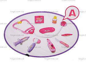 Игровой набор доктора с аксессуарами, 8010В-6010А-6010С, фото