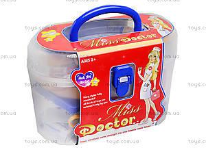 Игрушечный докторский набор в чемодане, 5614-2, цена