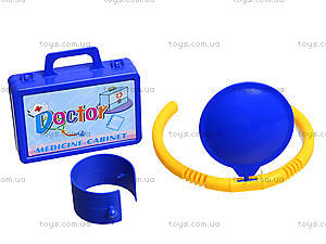Детский докторский набор в чемодане, 5665, детские игрушки