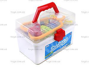 Детский игровой набор в чемодане «Доктор» , 7613-56, фото