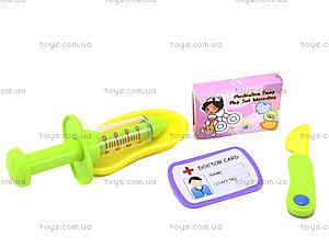 Детский игровой набор в чемодане «Доктор» , 7613-56, отзывы