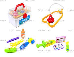 Детский игровой набор в чемодане «Доктор» , 7613-56