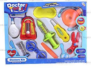 Игровой набор для детей «Доктор», 9616-56, цена