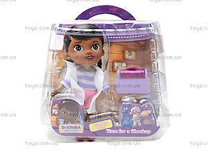 Игровой набор с куклой «Доктор Плюшева», 8655-3X, купить