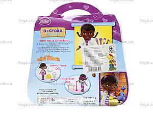 Игровой набор с куклой «Доктор Плюшева», 8655-3X, фото