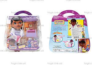 Игровой набор с куклой «Доктор Плюшева», 8655-3X