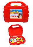 Докторские инструменты в чемодане, 4012, интернет магазин22 игрушки Украина