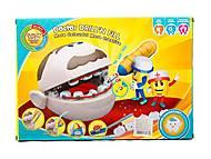 Докторская игрушка «Зубастик», DR001, детские игрушки