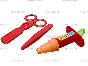 Игрушечный докторский набор в рюкзаке, 1011-2, игрушки
