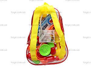 Игрушечный докторский набор в рюкзаке, 1011-2, магазин игрушек