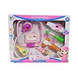 Докторский набор «Medical lovely kit» (розовый), 66001B-21