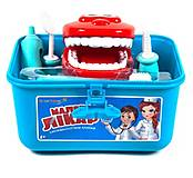 Докторский набор «Стоматолог» голубой, KI-8016A, опт
