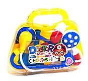 Докторский набор в чемоданчике желто-синий, 2351-8B, купить