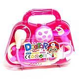 Докторский набор в чемоданчике розовый, 2351-8A, купить