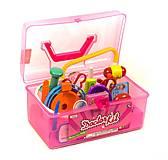 Докторский набор в чемоданчике (розовый) , 7613-3