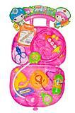 Докторский набор в чемодане розовый, 3A-330, фото