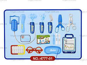 Докторский набор в коробке для малышей , 4777-01, фото