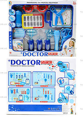 Докторский набор в коробке для малышей , 4777-01