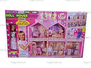 Дом для Барби, 5 комнат и кукла, 400D, отзывы
