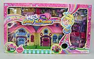 Дом для куклы с мебелью и звуковым эффектом, 16639C, игрушка