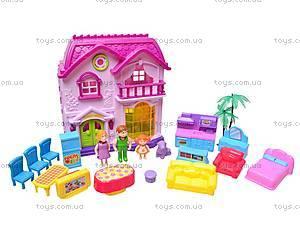 Дом кукольный с мебелью, 32663A