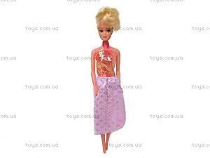 Дом на 5 комнат и кукла типа Барби, 420D, купить