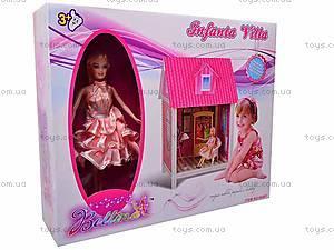 Дом с аксессуарами и куклой, 66881