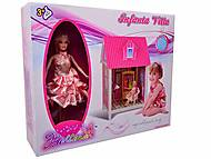 Дом с аксессуарами и куклой, 66881, фото