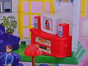 Дом с мебелью раскладной, 2801, детские игрушки