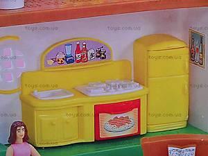 Дом с мебелью раскладной, 2801, магазин игрушек